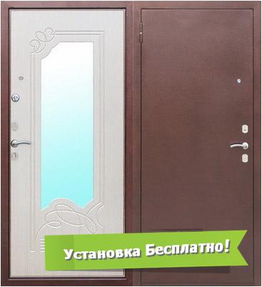 двери входные металлические пущино